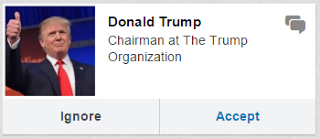 Trump LinkedIn