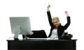 Woman.at desk